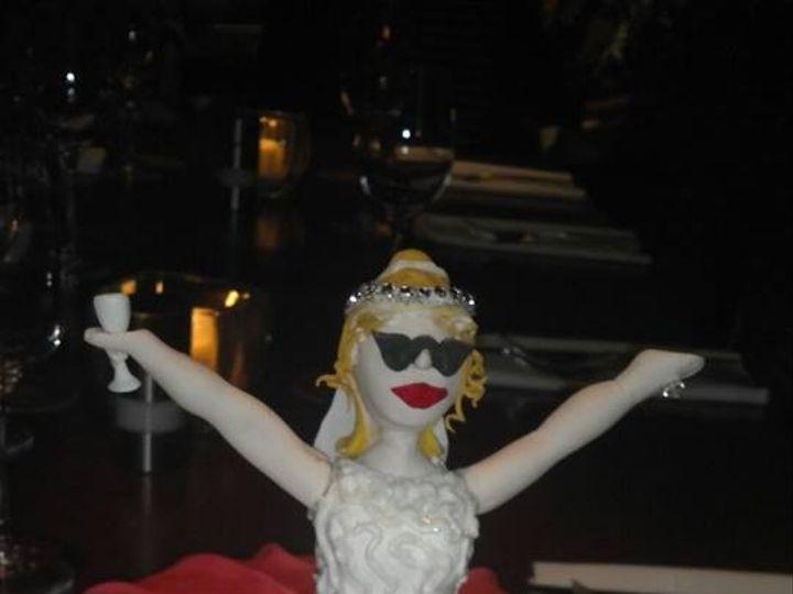 Tmx 1436101522572 Bridal Shower Fondant Cake Palm Harbor, Florida wedding cake