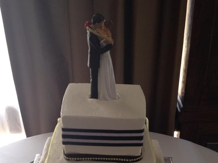 Tmx 1437878645097 11745448101531368891417487732340751532030840n Palm Harbor, Florida wedding cake