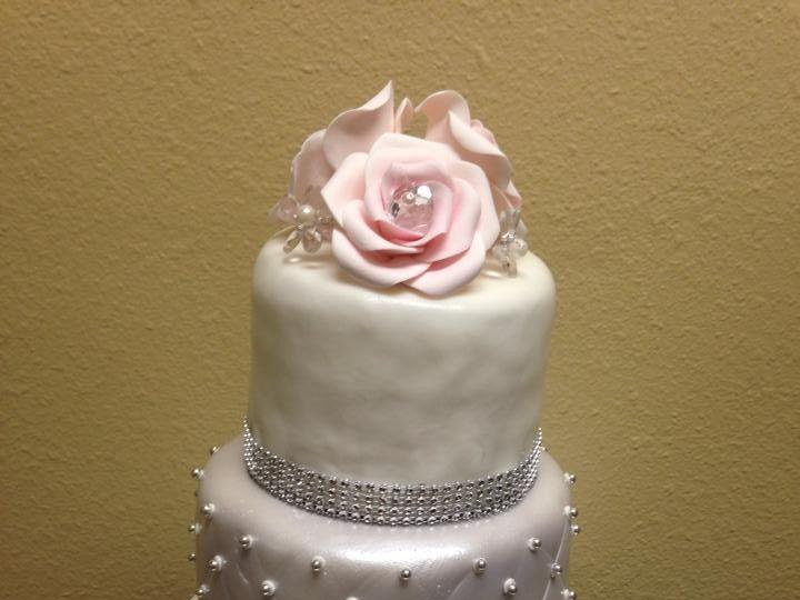 Tmx 1437878647866 11755255101531514844267482261338856111835882n Palm Harbor, Florida wedding cake