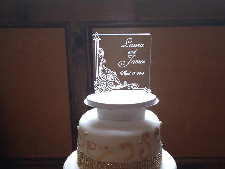 Tmx 1437878919195 10427360101529423536567484951929023889755673n 1 Palm Harbor, Florida wedding cake