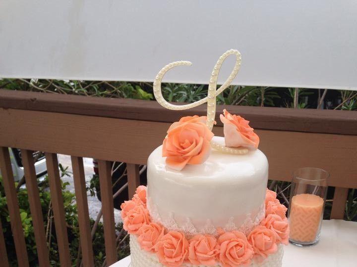 Tmx 1439349691431 118228231015319614943674812536290114582070n Palm Harbor, Florida wedding cake