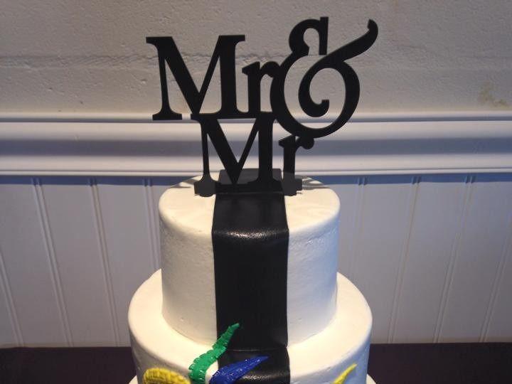 Tmx 1444693267181 11145126101532858736767484868871090986384816n Palm Harbor, Florida wedding cake