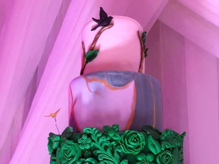 Tmx Magestic Green Cake 51 377920 157624848694532 Palm Harbor, Florida wedding cake