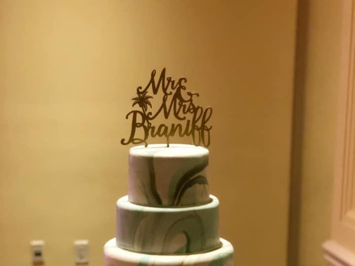 Tmx Marbled Fondant 51 377920 157624848672413 Palm Harbor, Florida wedding cake