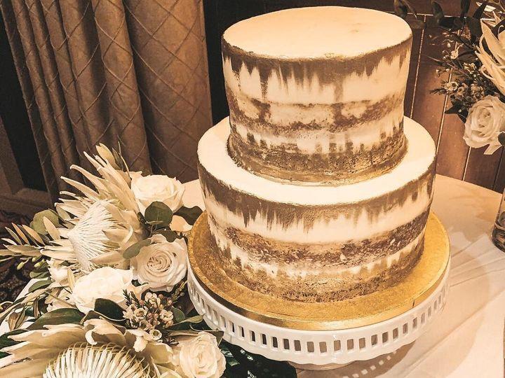 Tmx Metallic Naked Cake 51 377920 157624848792531 Palm Harbor, Florida wedding cake