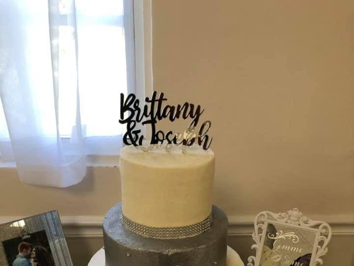 Tmx Metallic Silver 51 377920 157624848758256 Palm Harbor, Florida wedding cake