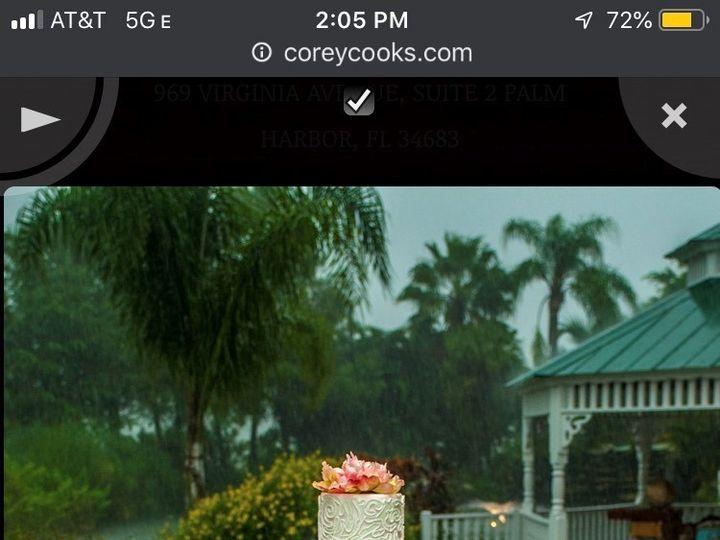 Tmx Mixons Farm Cake 51 377920 157624848642117 Palm Harbor, Florida wedding cake