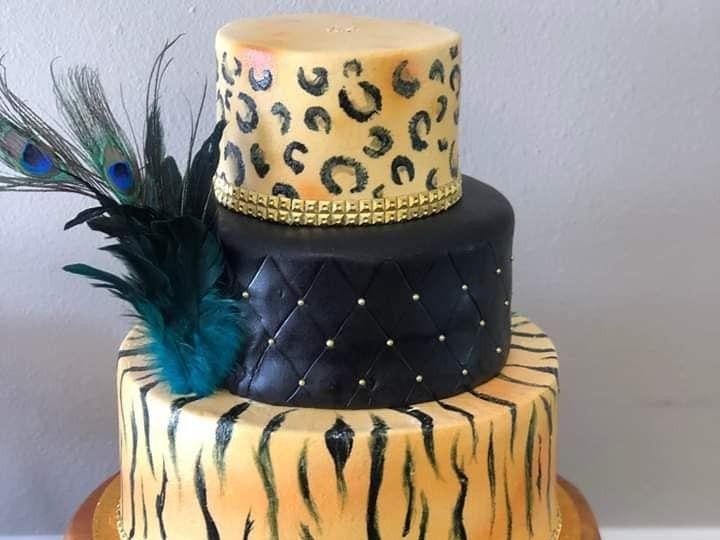 Tmx Tiger Lady 51 377920 157624848714288 Palm Harbor, Florida wedding cake