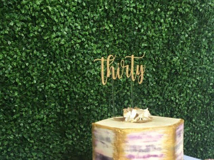 Tmx Watercolor Gold 51 377920 157624848731390 Palm Harbor, Florida wedding cake