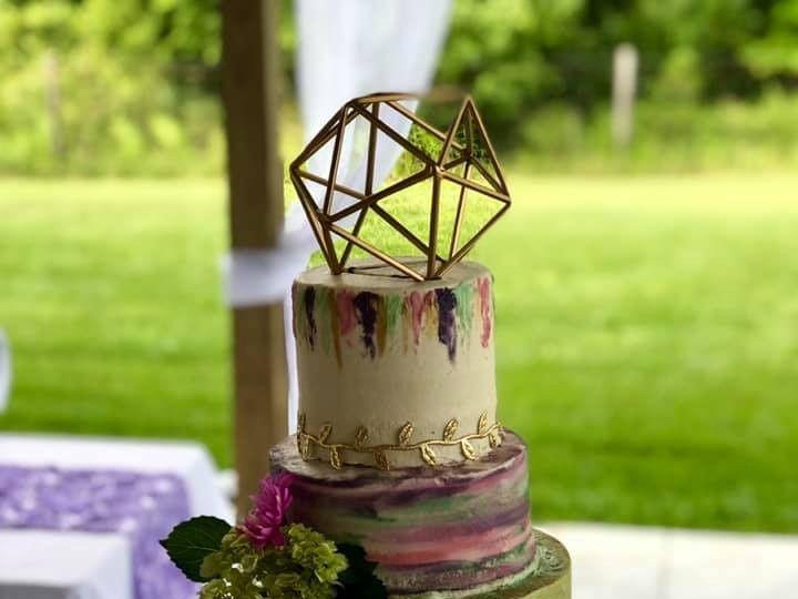 Tmx Watercolor 51 377920 157624848761482 Palm Harbor, Florida wedding cake