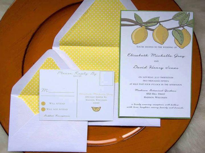 Tmx 1434643156045 Ilfullxfull.757213720hb9y New Berlin wedding invitation