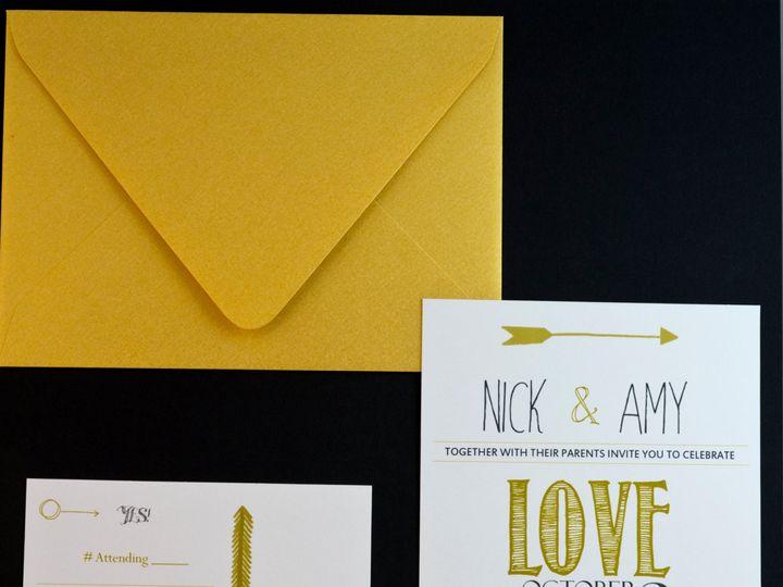 Tmx 1434643201843 Ilfullxfull.718727376kxuz New Berlin wedding invitation