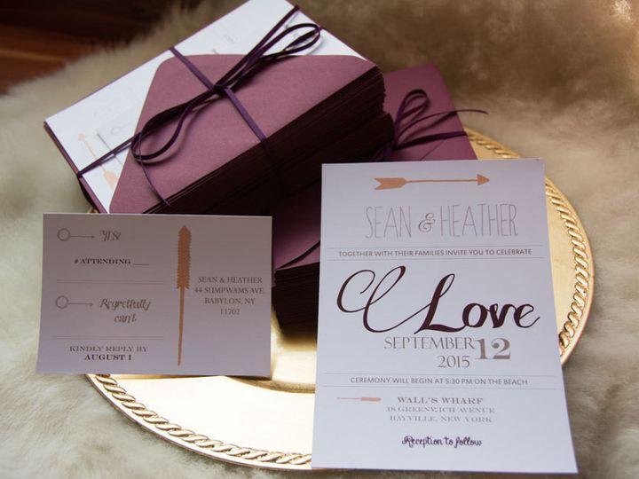 Tmx 1434643296275 Ilfullxfull.754006486qmsw New Berlin wedding invitation