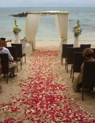 Ceremony on Morning Star Beach