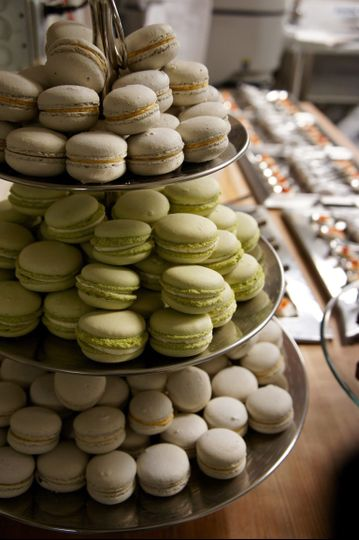 House made macarons