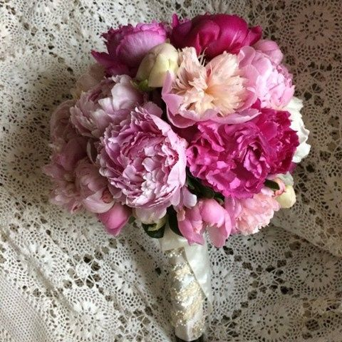 Tmx 1416536943390 Peony Bridal Bouquet Portage, Michigan wedding florist
