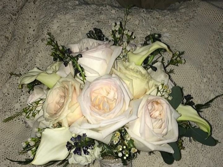 Tmx 1416540883005 David Austin Patience Roses With White Calla Lilie Portage, Michigan wedding florist