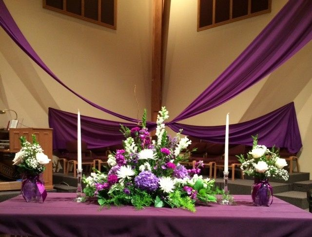 Tmx 1420211392744 Altar Set Up For Brewer Wedding Portage, Michigan wedding florist