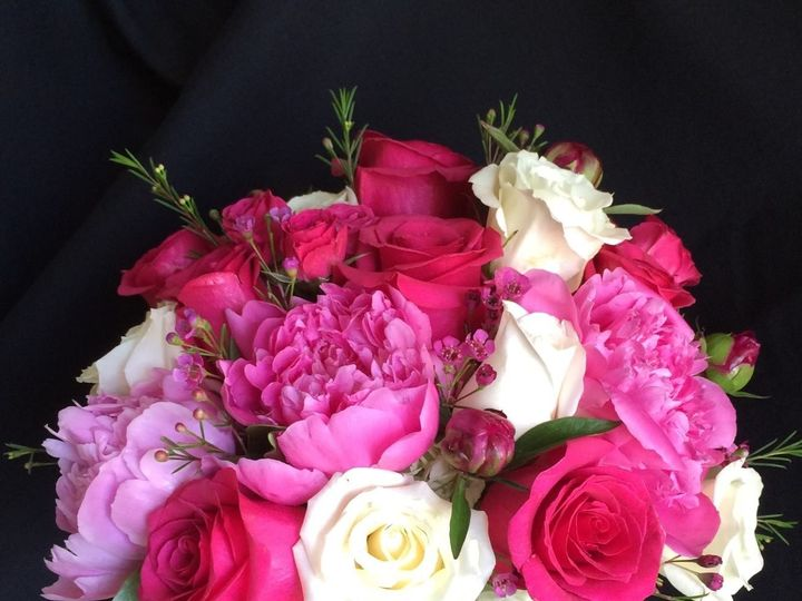 Tmx 1436375622435 Peonyrosebouquet Portage, Michigan wedding florist