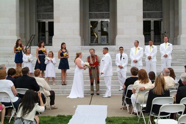 East capitol steps ceremony