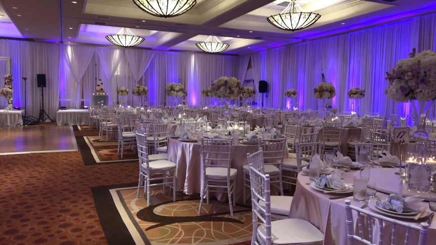 Ballroom with pipe & draping