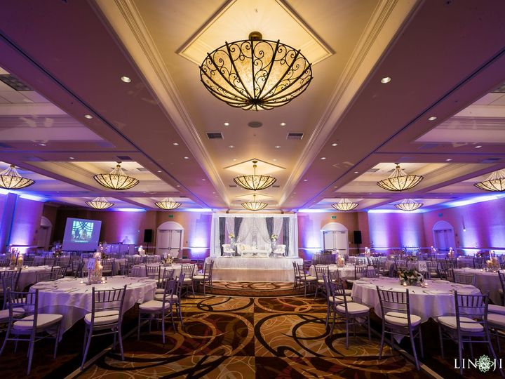 Tmx 1496777762 F2f1999e93ecf126 Tuscany Ballroom White Linens Anaheim, California wedding venue