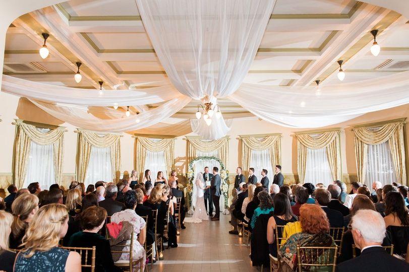 Ballroom Ceremony w/Drape
