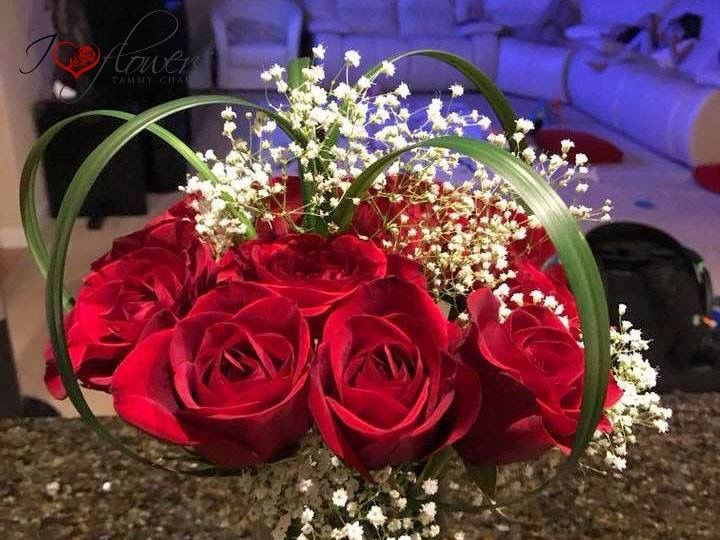 Tmx 1522686946 6df7277d4e395057 1522686945 C0ca427e684f25c1 1522686943428 5 Rose Centerpiece2 Kent, Washington wedding florist
