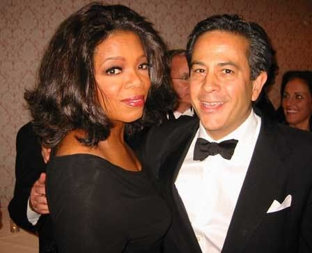 With Oprah Winfrey