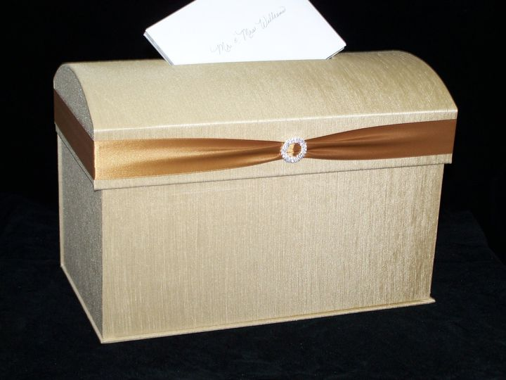Tmx 1380920899440 18 5449moneyboxsilktrunk Miami, FL wedding invitation