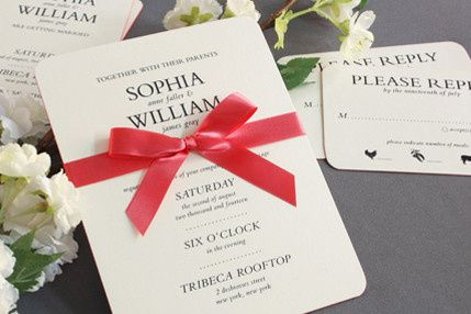 Tmx 1380923770966 Williamarthur 1 Miami, FL wedding invitation