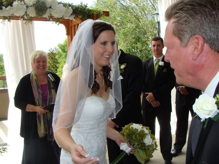 Tmx 1346425433491 BayerDutton1 Brookfield wedding officiant