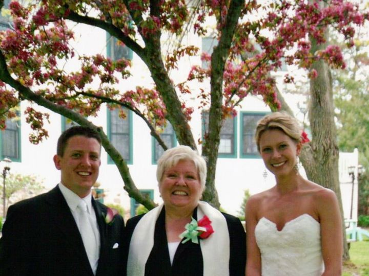Tmx 1346425664670 RevChriswithKellyandRheaKrieg Brookfield wedding officiant