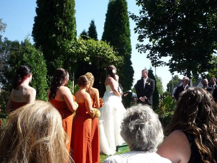 Tmx 1351560046497 JessyandSeanWedding2 Brookfield wedding officiant