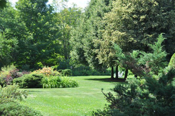 Three acres of landscaped grounds