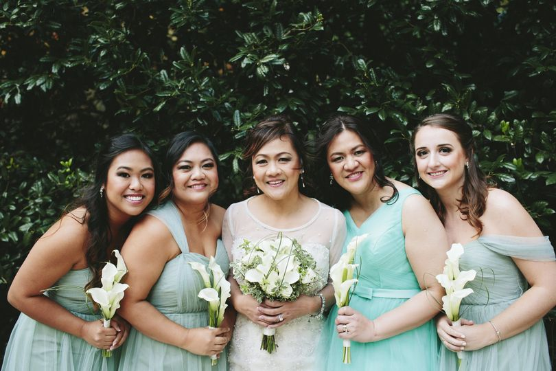 Beautiful Bridal Party | Photography: Natalie E Photography