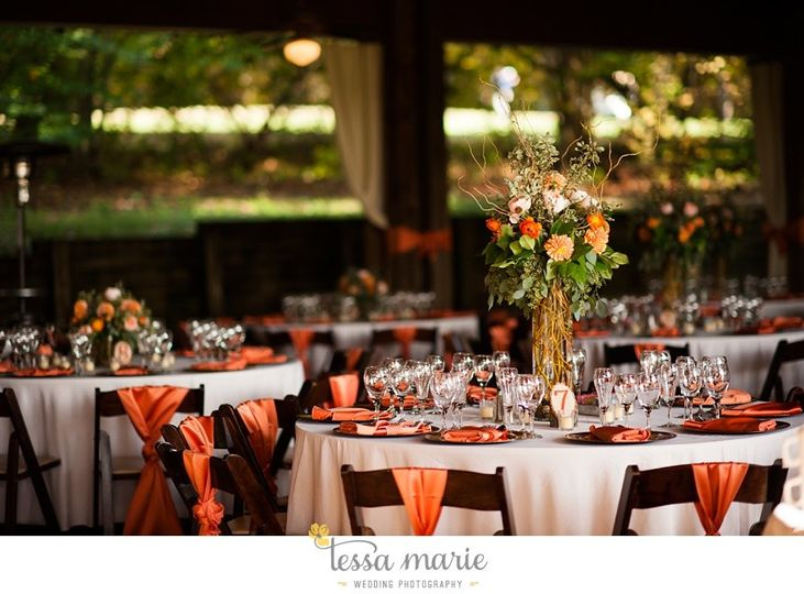 The classy wedding reception
