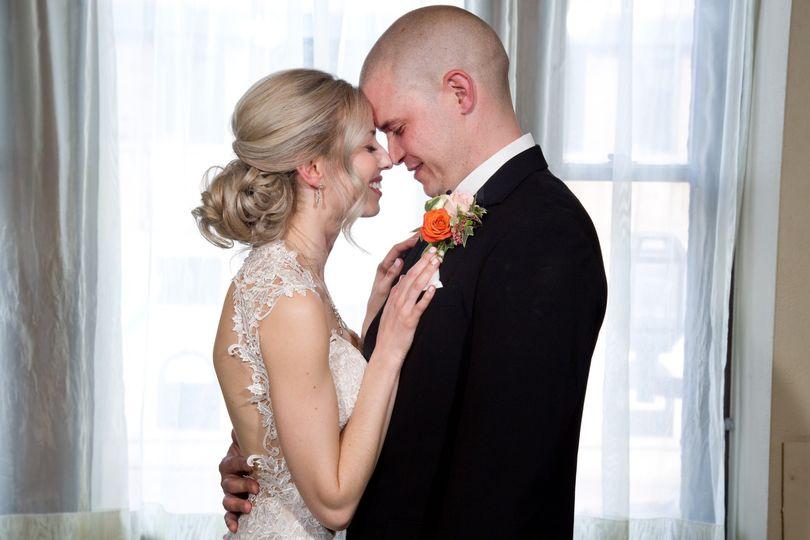 Couple at Greysolon Ballroom