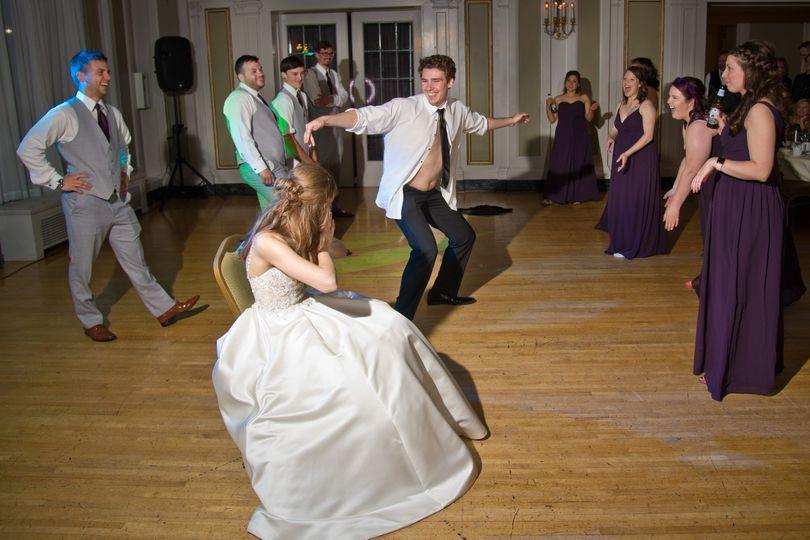 Dancing at Greysolon Ballroom