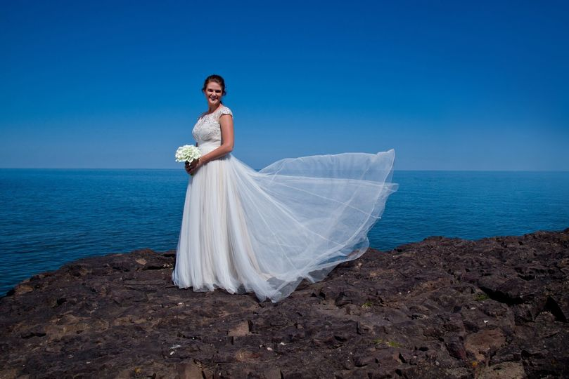 Bride at Gooseberry State Park