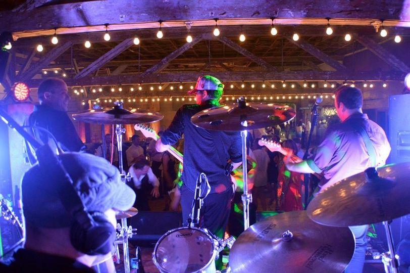 Drummer view