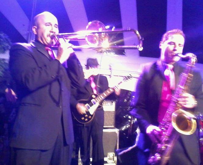 Trombone and saxophone