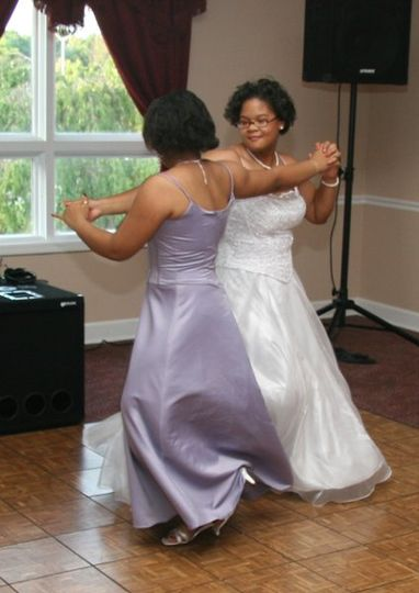 Sisters kicking up their heels