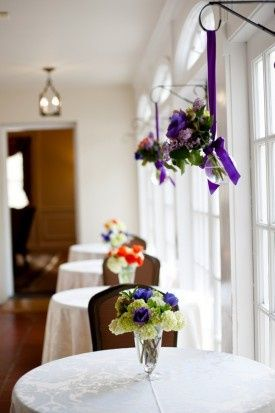purple wedding glenview mansion maryland michelle