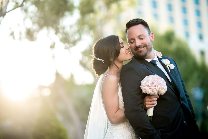 Wedding on the Las Vegas Strip