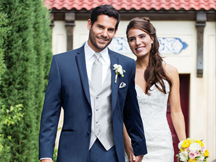 Tmx 1392234103024 Stephen Geoffrey Slate Blue Aspen Slim Fit Tuxed Bedford, New Hampshire wedding dress