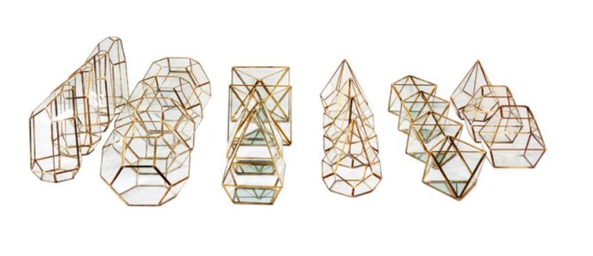 Geometric centerpieces