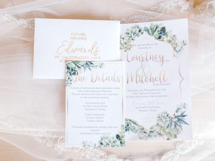 Tmx 1539278330 2229f4a329924984 1539278328 Eb99d562b4d5b0a1 1539278196918 9 Harmony Hill Style Berwick, ME wedding invitation