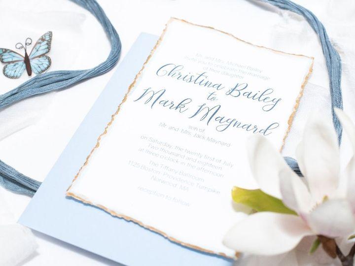 Tmx 1539278438 E9dc24cb0759680e 1539278436 5be142d9f2779e66 1539278304444 15 AmourDayDreamStud Berwick, ME wedding invitation