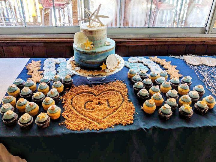 Tmx 1523925271 07b895a25e5780c2 1523925270 660881f3794762ec 1523925270694 18 IMG 3607 Tampa, FL wedding cake
